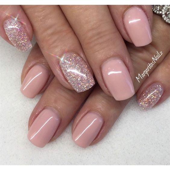 Maniküre Gel  50 Stunning Manicure Ideas For Short Nails With Gel Polish