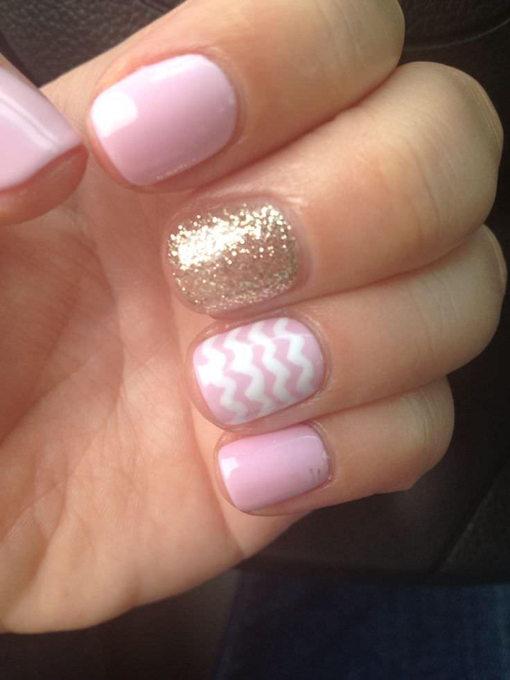 Maniküre Gel  25 Cool Gel Nails Design Ideas