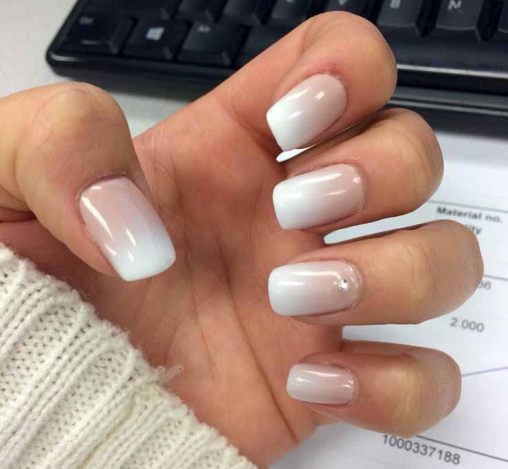 Maniküre Gel  Shellac vs Gel & Acrylic Nails Differences between