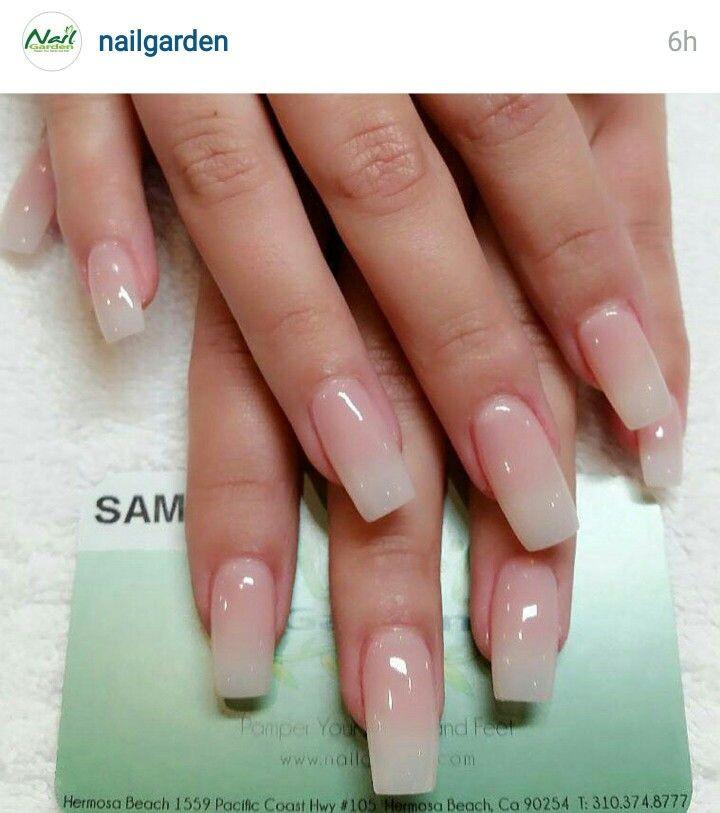 Maniküre Natürlich  Long natural french nail my absolute favorite set