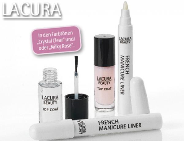Maniküre Set Aldi  LACURA BEAUTY French Manicure Set von Aldi Süd ansehen