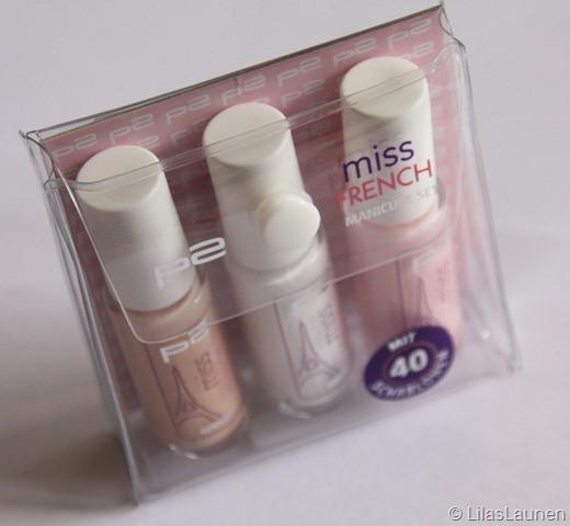 Maniküre Set Dm  LilasLaunen French Manicure mit p2 und Essie