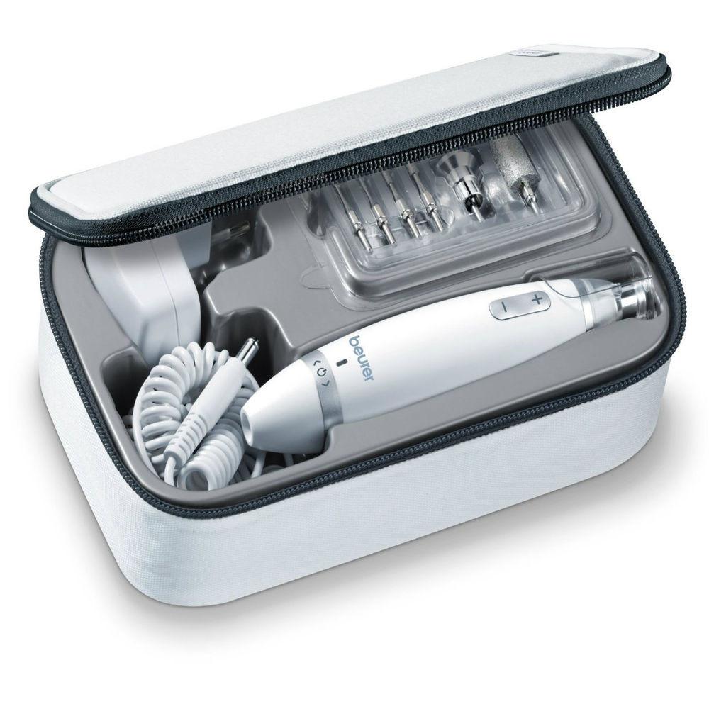 Maniküre Set Elektrisch Aldi  Beurer Manicure Pedicure Kit with Light & Electric Nail