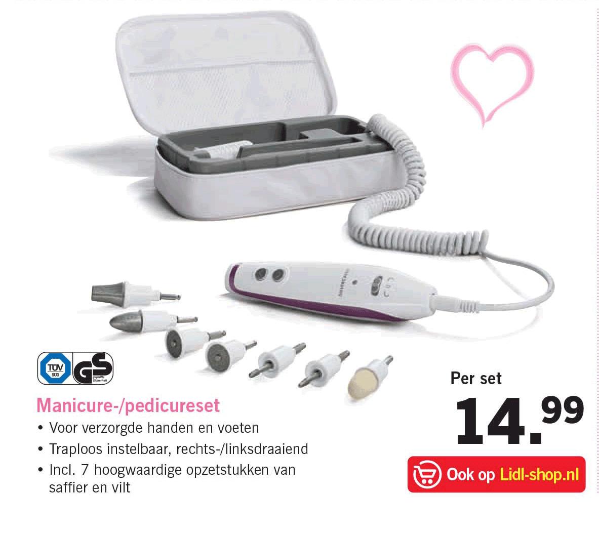 Maniküre Set Elektrisch Aldi  Lidl Folder Aanbiedingen