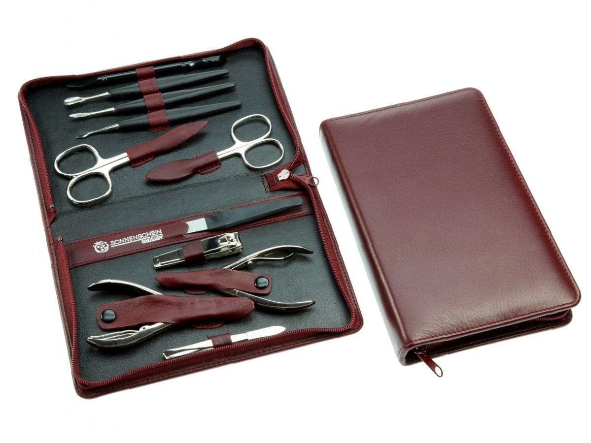 Maniküre Set Hochwertig  Sonnenschein Leather Manicure Pedicure Set Maxi