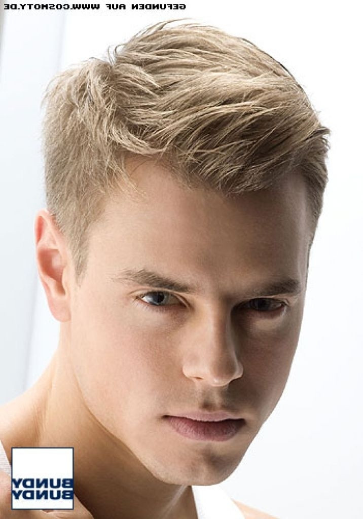 Männer Frisuren 2019 Kurz  Herren Frisuren Kurz Blond