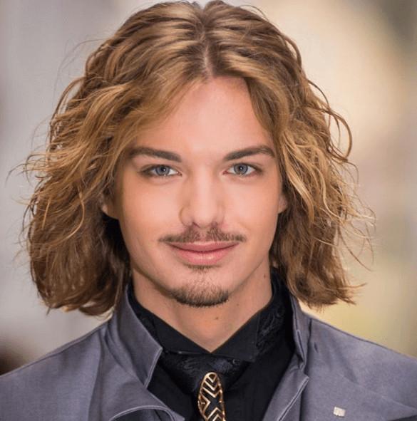 Männer Frisuren Lange Haare  Frisuren männer ovales gesicht für lange haare
