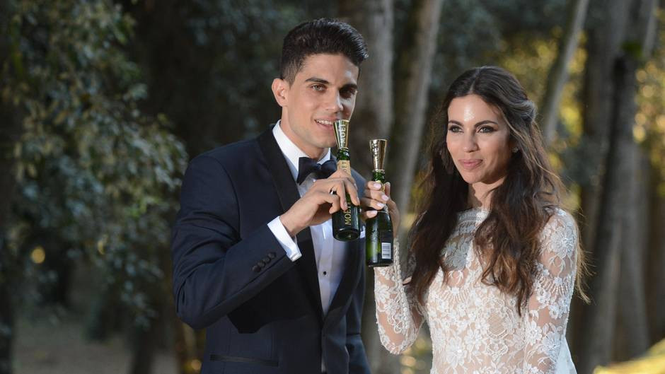 Marc Bartra Hochzeit  Happy End BVB Star Marc Bartra heiratet seine Melissa