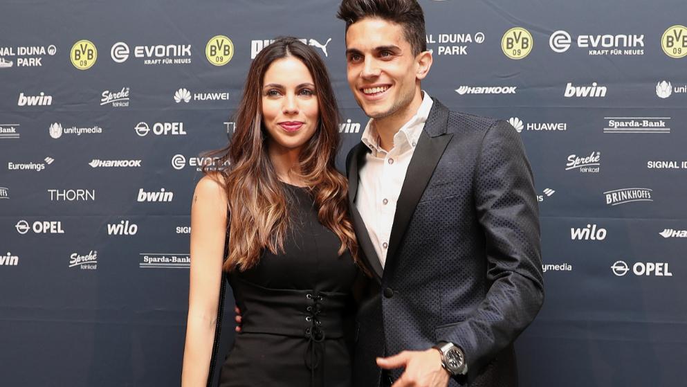 Marc Bartra Hochzeit  BVB Star heiratet