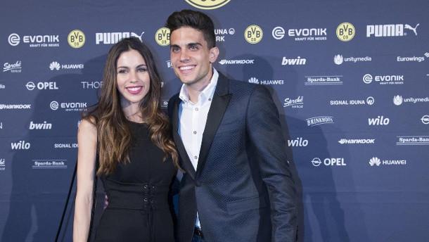 Marc Bartra Hochzeit  Zwei Monate nach dem Anschlag BVB Star Marc Bartra