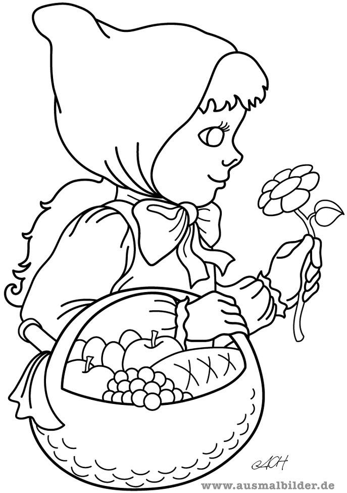 Märchen Ausmalbilder  Märchen und Geschichten