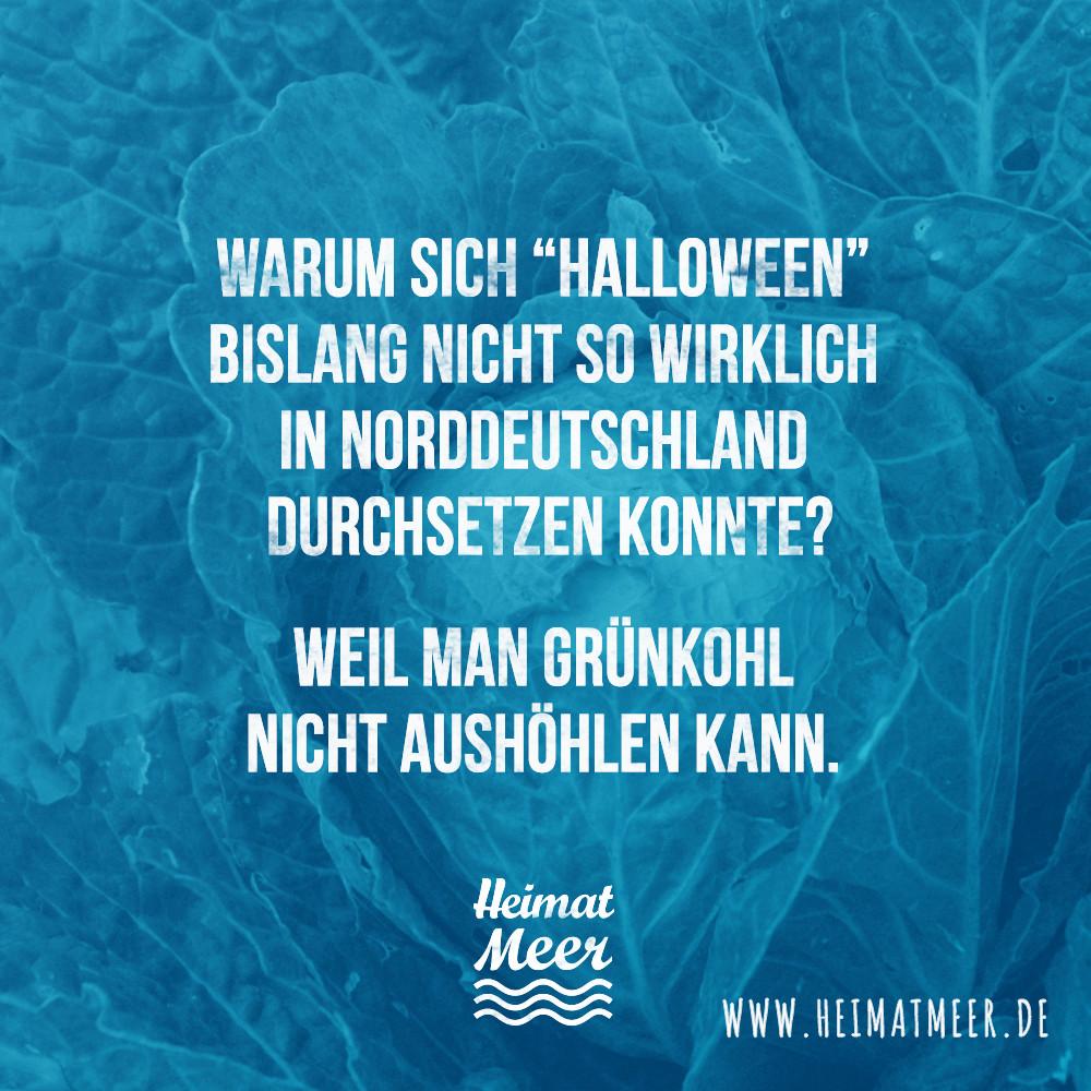"""Maritime Geburtstagssprüche  """"Halloween"""" in Norddeutschland"""