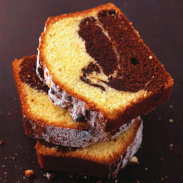 Marmor Kuchen  Klassischer Marmorkuchen Rezept
