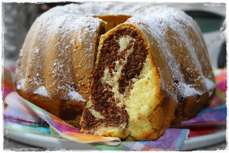 Marmor Kuchen  Kochen ine Leidenschaft Marmorkuchen