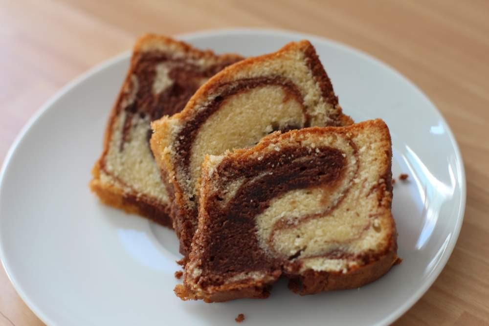 Marmor Kuchen  Feiner Marmorkuchen — Rezepte Suchen