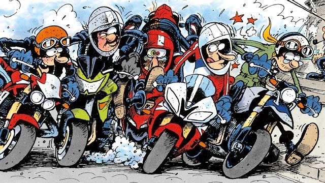 Motorrad Geburtstagsbilder  Motomania von Holger Aue ic Abenteuer mit Motorrädern