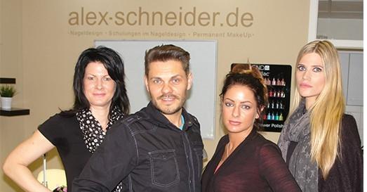 Nageldesign Ausbildung Dortmund  Beauty & Nails Alex Schneider STILPUNKTE
