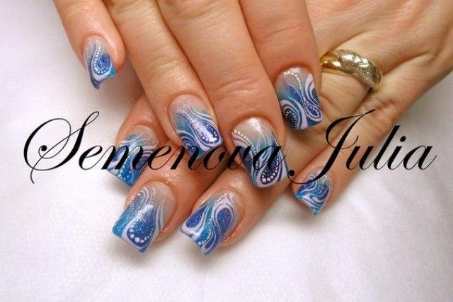 Nageldesign Blau Pink  543 best images about Nageldesign Bilder by World Nails