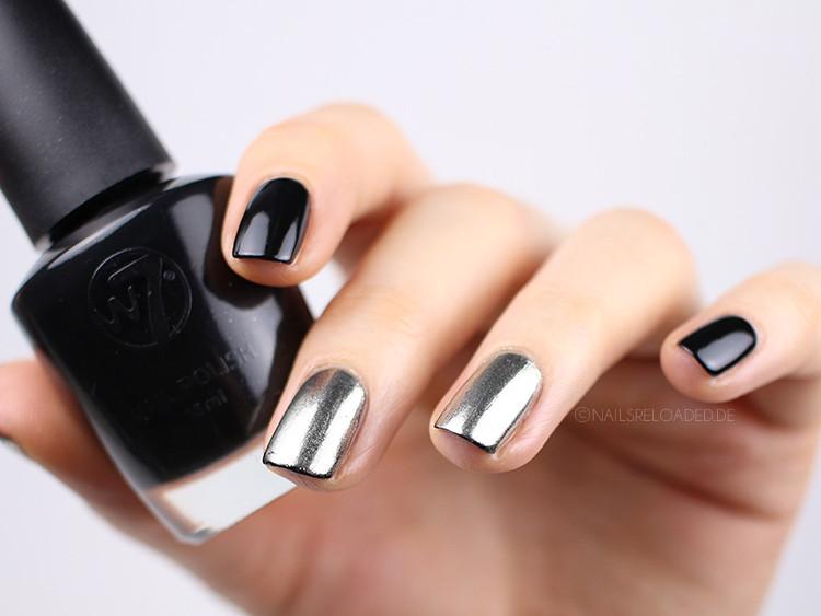 Nageldesign Chrome  nails reloaded Nageldesign märchenhaft mit Chrome Puder