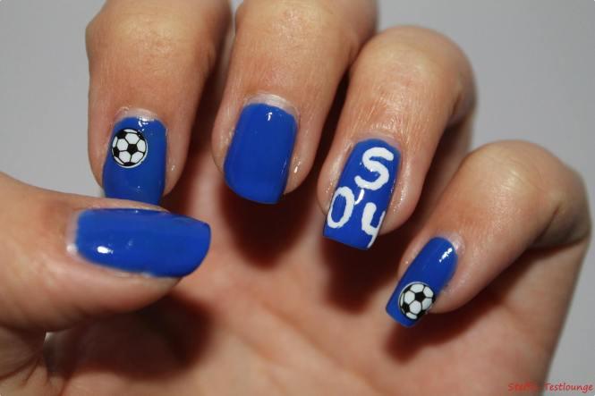Nageldesign Dortmund  Blog Battle Nageldesign Fußball
