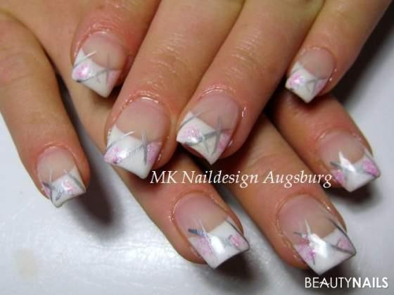 Nageldesign Forum  Liner Glitzer Nageldesign