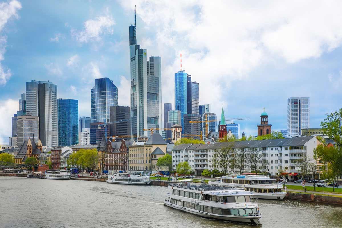 Nageldesign Frankfurt Am Main  Panorama Frankfurt am Main und Stadt Skyline Tolles XXL