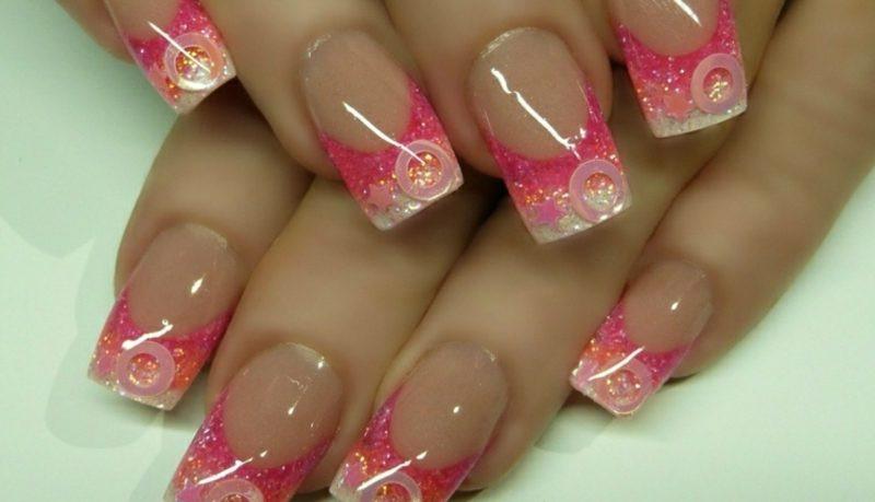 Nageldesign French Rosa  French Nails selber machen hilfreiche Tipps 30