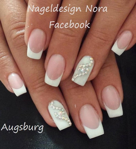 Nageldesign Frühling Dezent  Nageldesign 2016 french