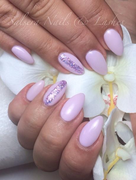 Nageldesign Frühling Fullcover  Nageldesign rosa fullcover