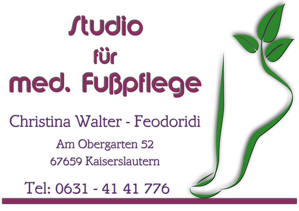 Nageldesign Kaiserslautern  Fußpflege in KL Medizinische Fußpflege in Kaiserslautern