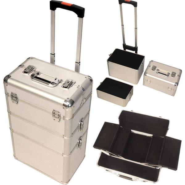 Nageldesign Koffer  Alu Trolley Koffer Nageldesign