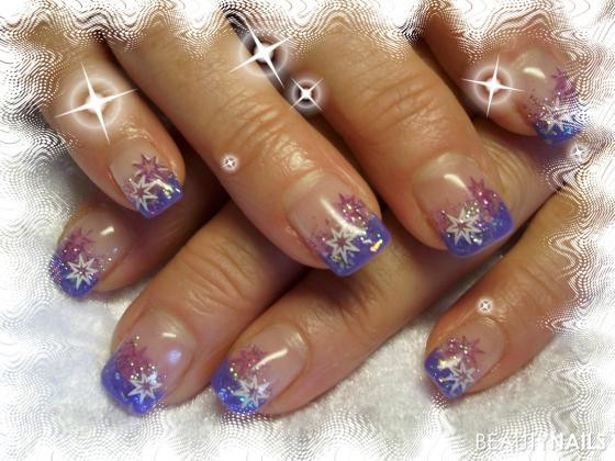 Nageldesign Lila  lila lila Nageldesign