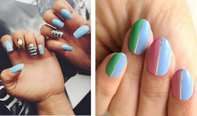 Nageldesign Pastellfarben  Buntes Nageldesign für den Sommer – 85 schöne Motive