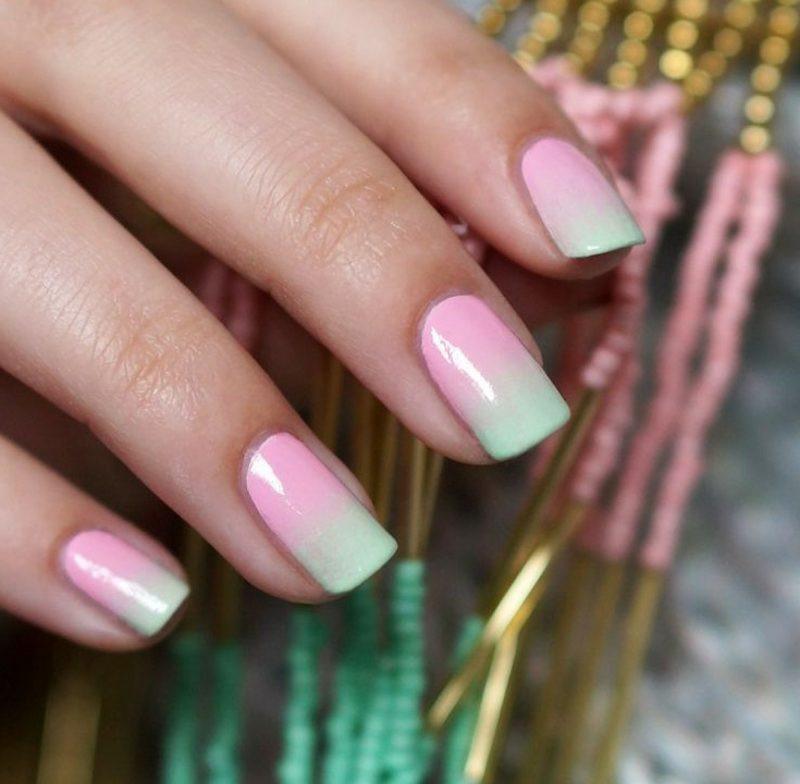 Nageldesign Pastellfarben  Nageldesign im Frühling – 45 Ideen und Anregungen