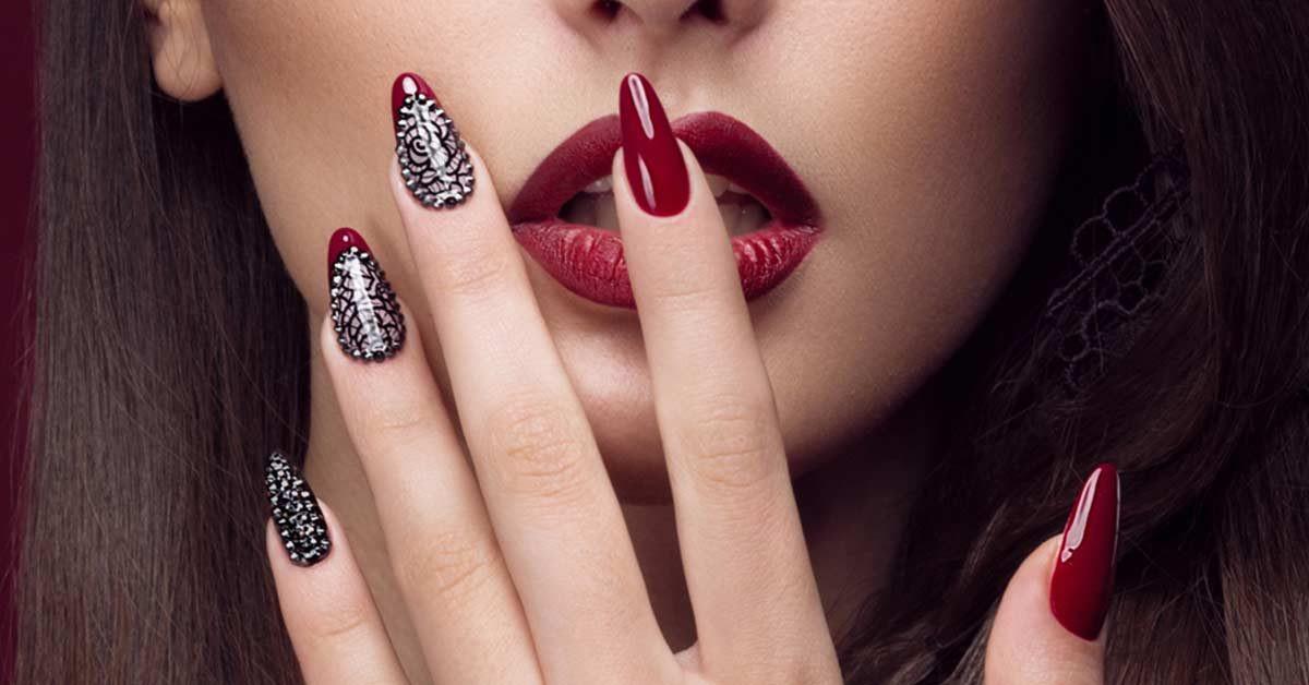 Nageldesign Rottöne  Die Februar Trendlinie für Nageldesign Rot ist Farbe