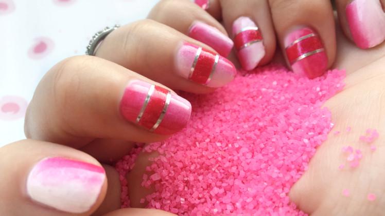 Nageldesign Rottöne  Pink is bjutiful