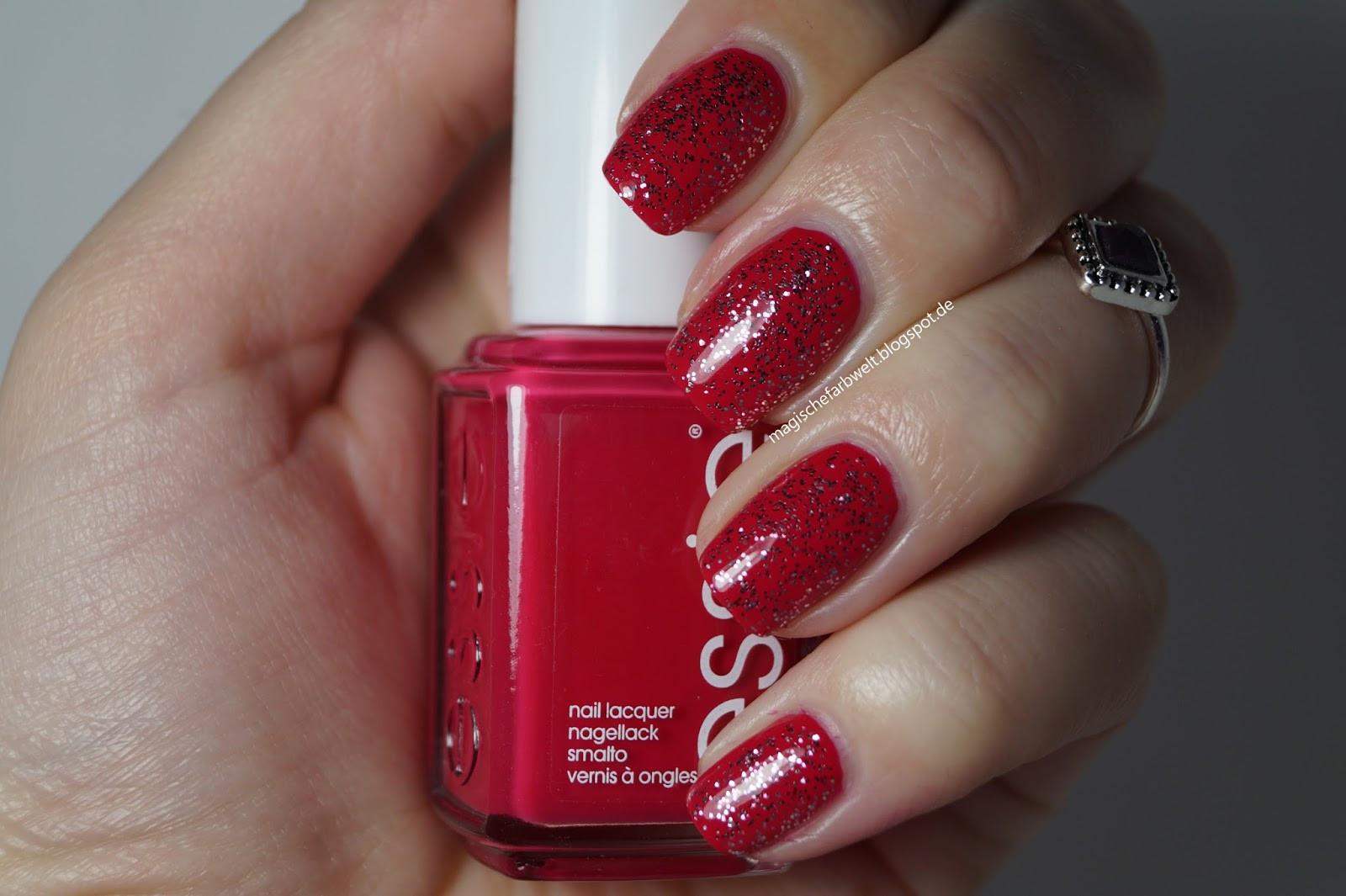 Nageldesign Rottöne  Magische Farbwelt Rund um Kosmetik und mehr Nageldesign