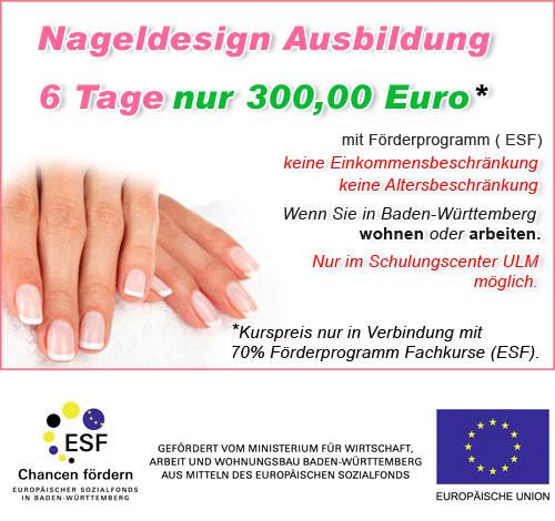 Nageldesign Schulung Baden-Württemberg  Nageldesign künstliche Fingernägel