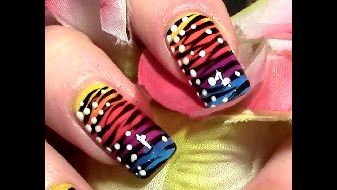 Nageldesign Selber Machen Anfänger  Exotic Nails Nailart selber machen Nageldesign