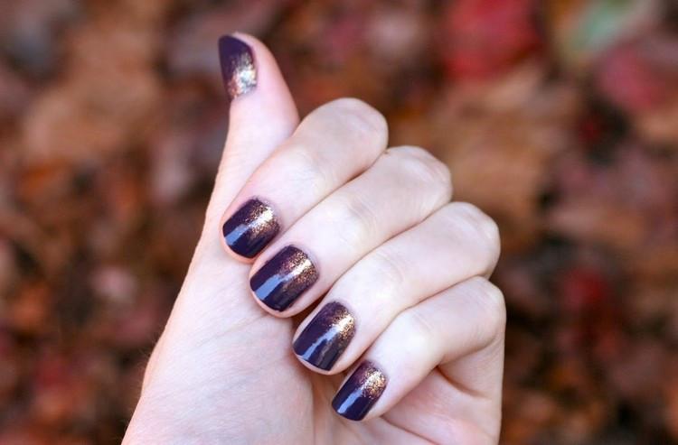 Nageldesign Selber Machen Kurze Nägel  Ombre Nails selber machen Anleitung und hübsche