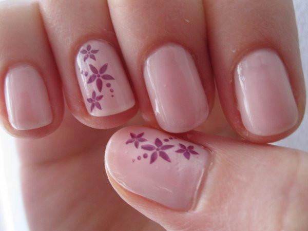 Nageldesign Selber Machen Kurze Nägel  Nageldesign Blumen Selber Machen