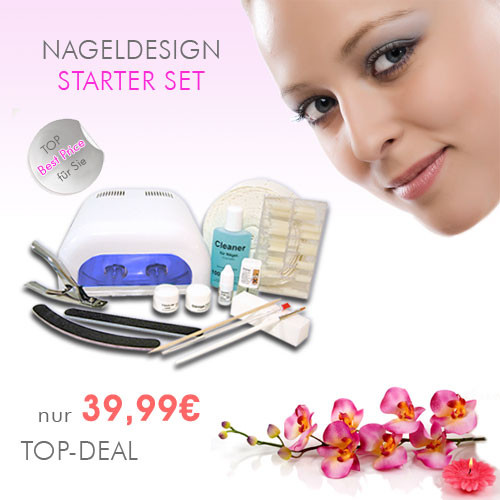 Nageldesign Set Günstig  Nageldesign Starter Set