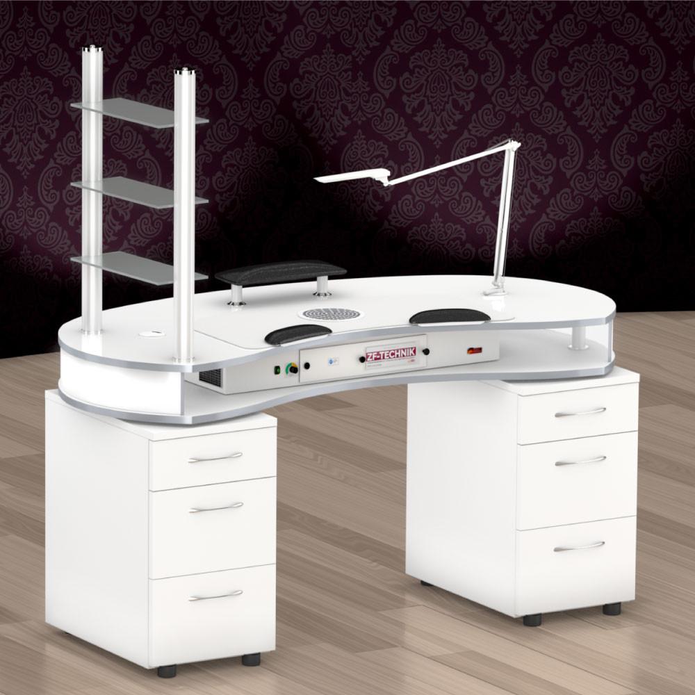 Nageldesign Tisch Mit Absaugung  Nagelstudio Tisch Mit Absaugung – Dekoration Bild Idee