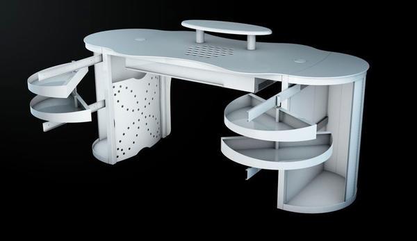 Nageldesign Tisch Mit Absaugung  Aerotisch Nageltisch mit Absaugung zum Verkauf in