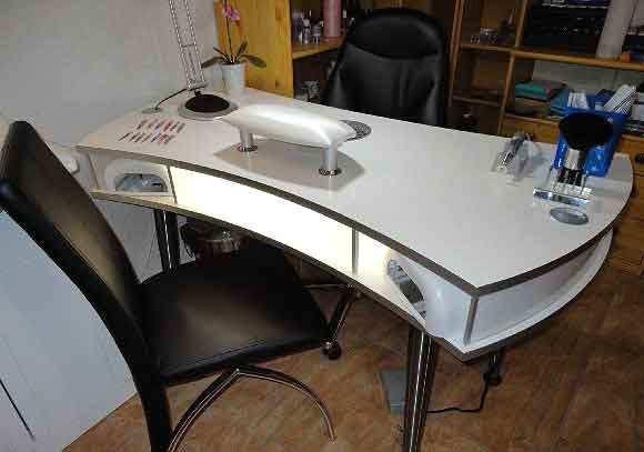 Nageldesign Tisch Mit Absaugung  Atemberaubend Tisch Für Nageldesign Zum Tisch