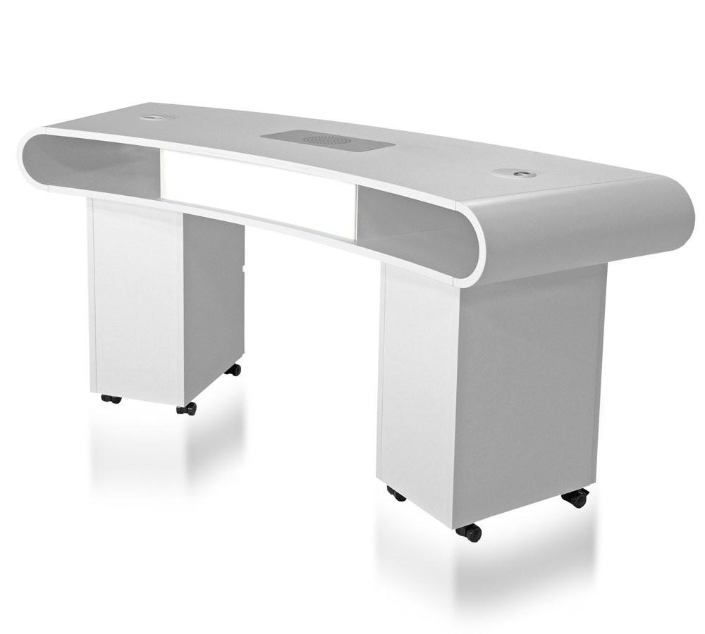 Nageldesign Tisch Mit Absaugung  Studiotisch Manikürtisch DR 02 inkl Absaugung 409 00