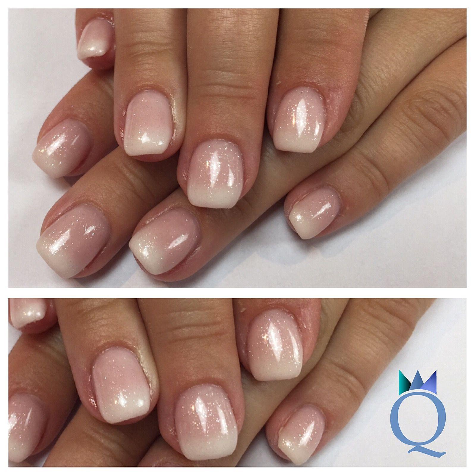 Nageldesign Trends 2019  shortnails gelnails nails babyboomernails glitter