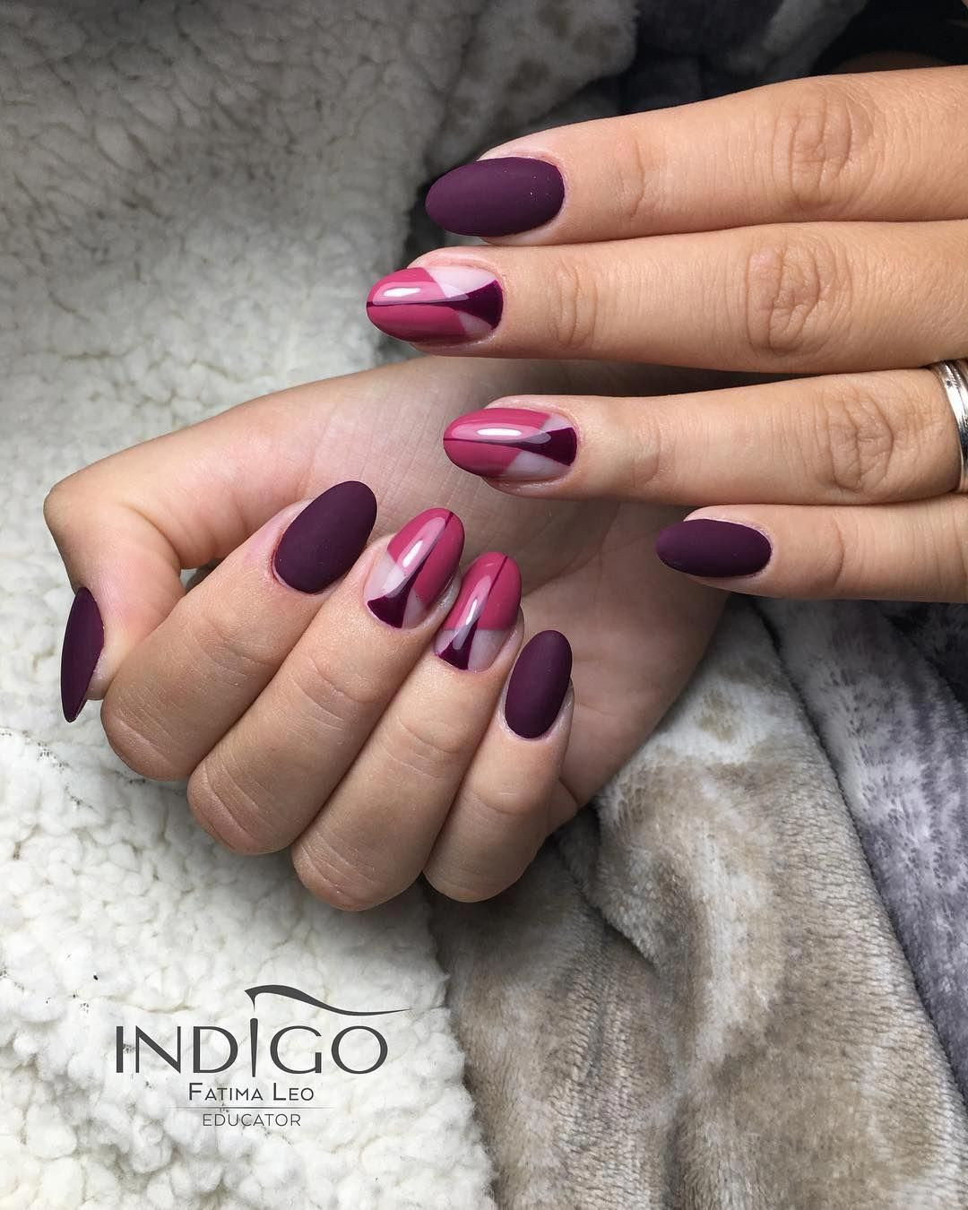 Nageldesign Trends 2019  47 trends for decorated nails 2019 nails nailart