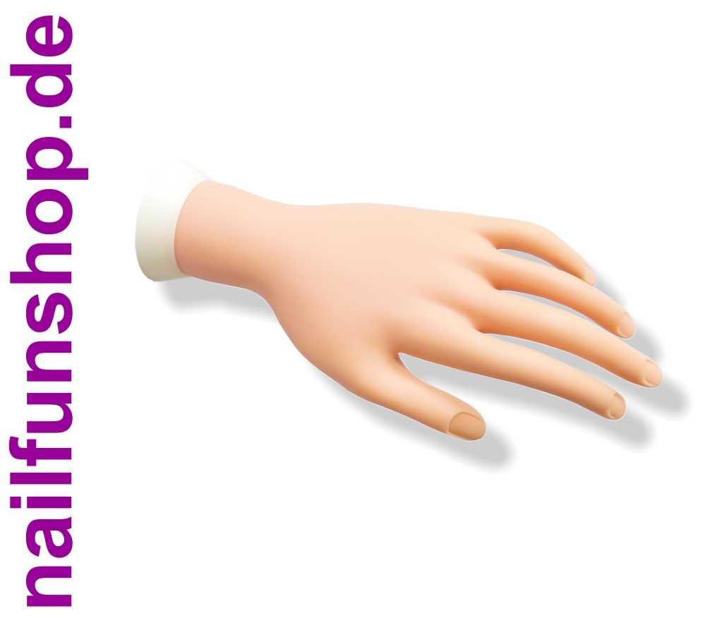 Nageldesign Übungshand  Übungshand mit beweglichen Fingern für Nagelmodellage