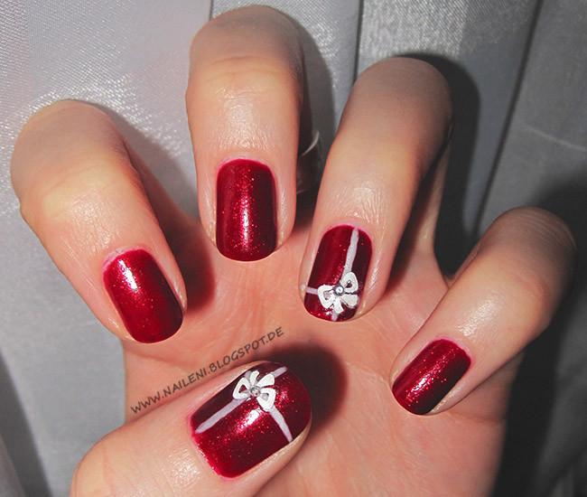 Nageldesign Weihnachten Galerie  nails reloaded Nageldesign Weihnachtliches Nageldesign